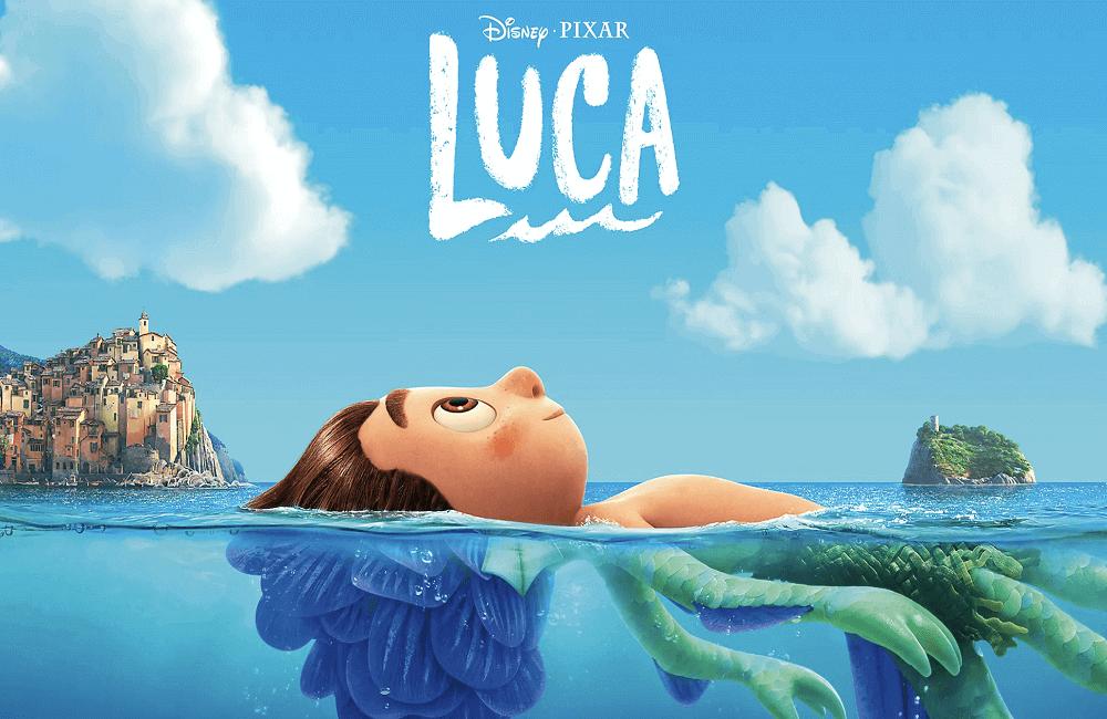 Disney Pixar Luca coloring pages