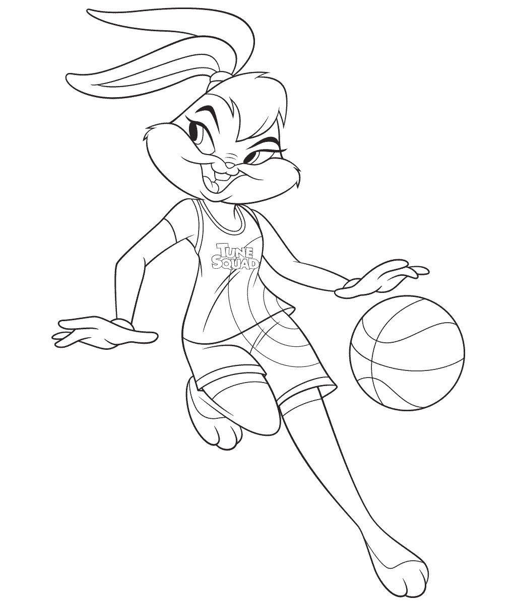 Lola Bunny from Space Jam 2