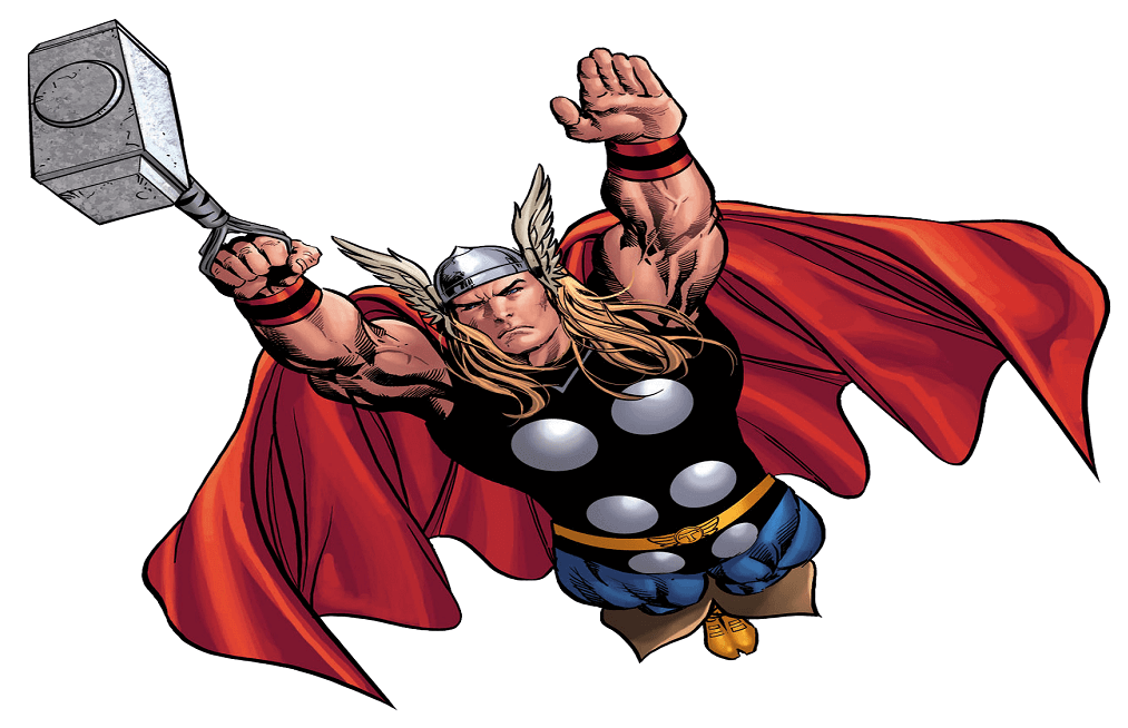 Thor coloring pages for kids